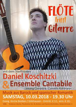 Gitarrenensemble Cantabile und Quartett Gitarrenliebe